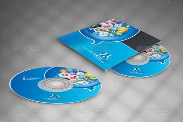 Social idea Creative Social Media CD Packaging