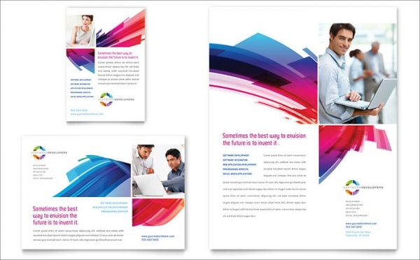 Software Solutions Flyer & Ad