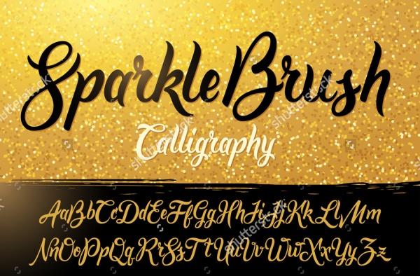 Sparkle Brush Script Font