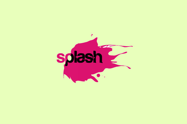 Splash Watercolor Logo Design