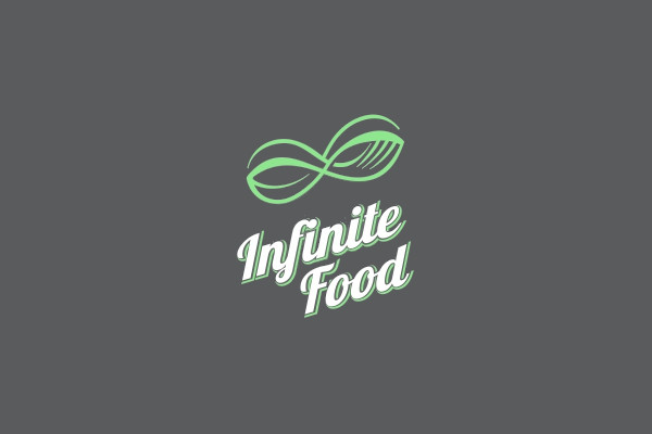 spoon fork infinite food logo