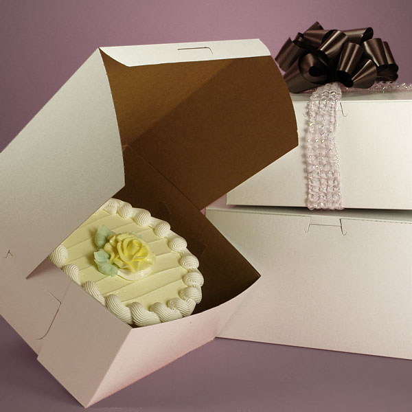 Standard White Cake Boxes Packaging