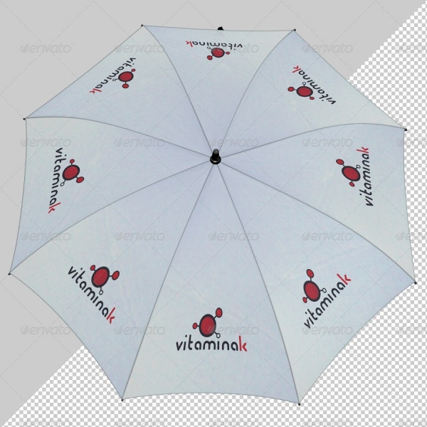 Stunning 3D Umbrella Mockup