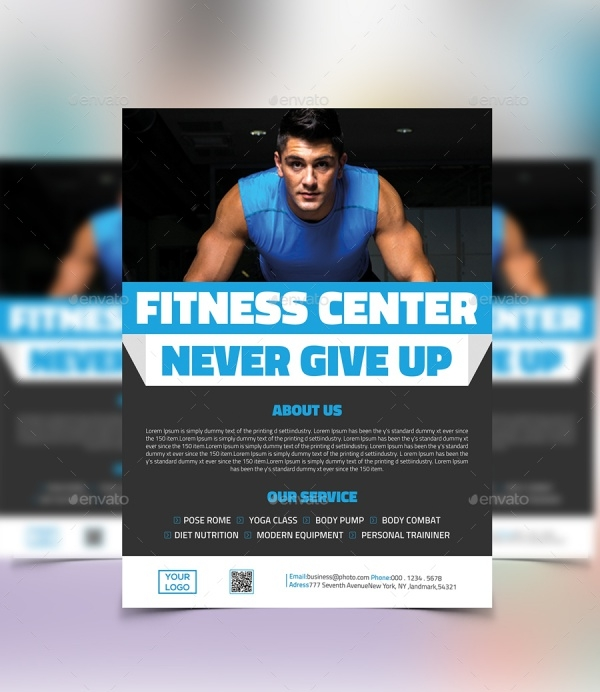 21+ Fitness Flyer Templates - PSD, Vector EPS, JPG Download ...