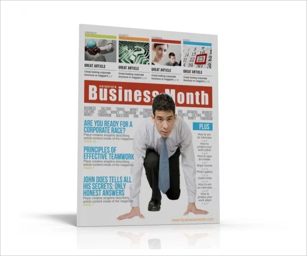 Stylish Professional Magazine Template