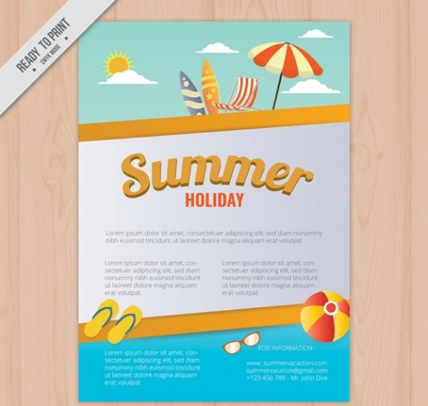 20+ Summer Camp Brochures - PSD, Vector EPS, JPG Download ...