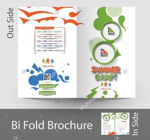 Summer Camp Half Fold Brochure