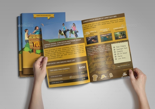 Summer Camp Youth Bifold Brochure