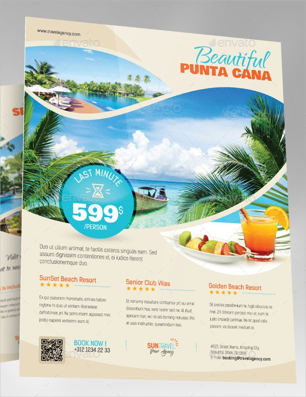 Summer Travel Flyer Design