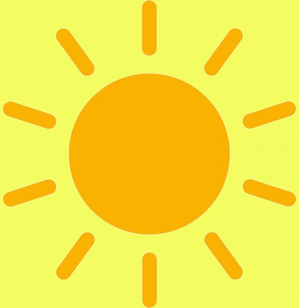 Sun Rays Free Illustration