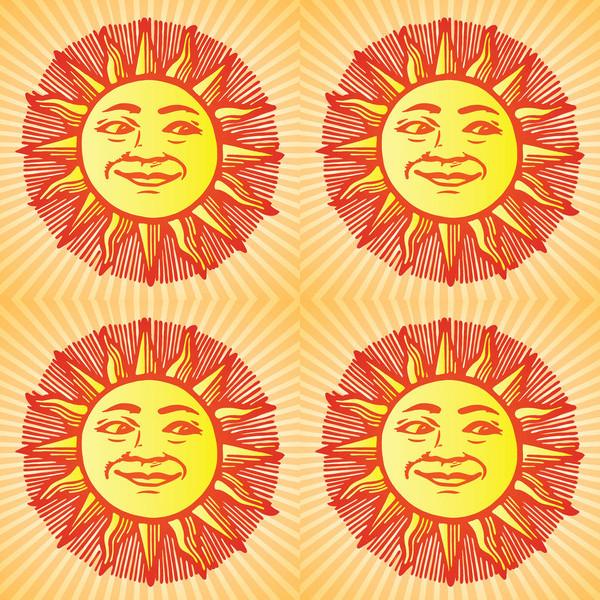Sunny Weather Illustration Design