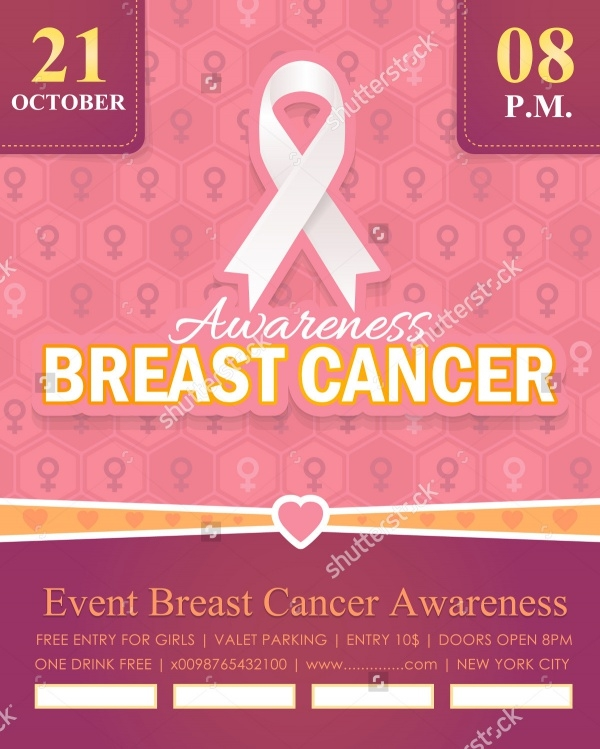 Free pamphlet on breast cancer for Breast cancer brochure template free