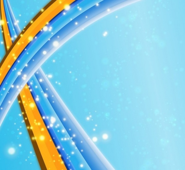 Swirl Swoosh Abstract Sparkle Vector