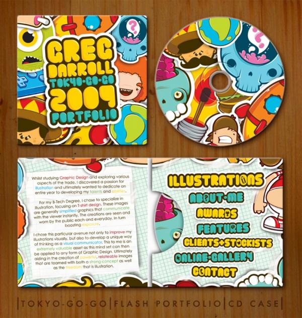 TGG Portfolio CD Case Packaging
