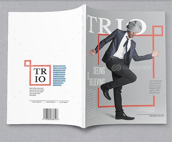 TRIO Minimalistic Professional Magazine Template
