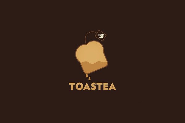 Tea Bag Toast Cup Logo