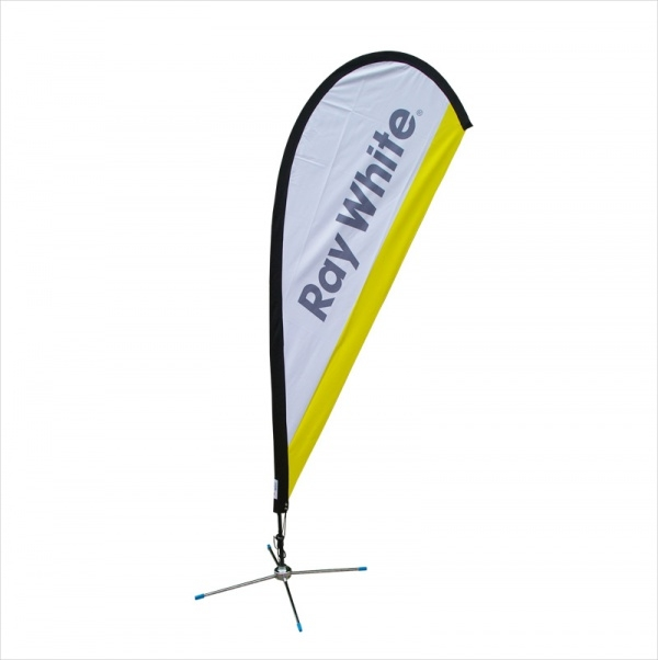 Teardrop Promotional Flag Banner