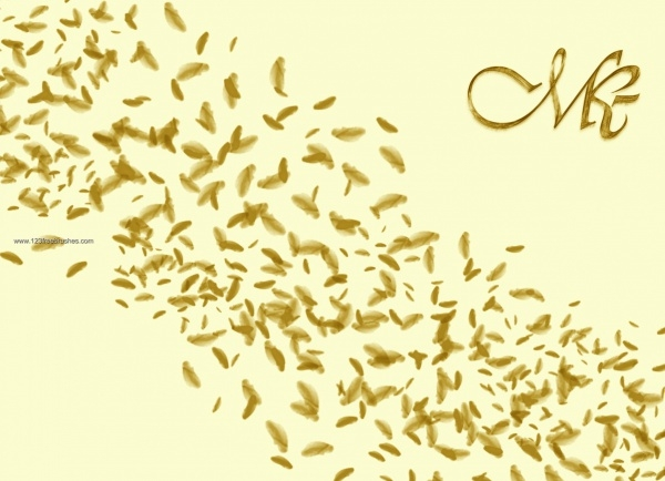 Thin Gold Petal Brushes Download