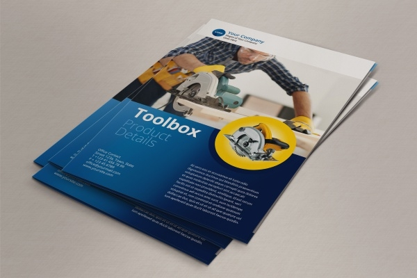 Toolbox Service Brochure Design