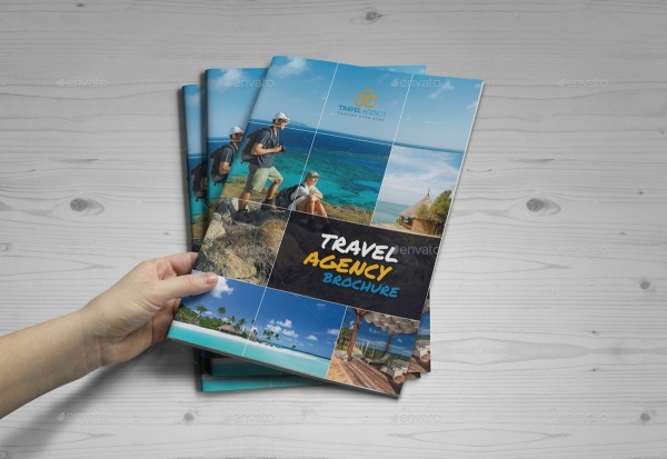 Travel Agency In Design Template