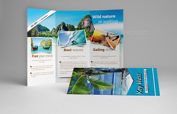 Travel Holiday Brochure Design