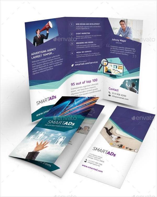 Tri Fold Advertisement Brochure