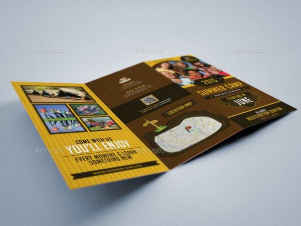 Tri Fold Summer Camp Brochure