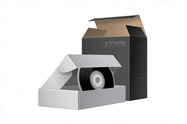 Two CD Disk Package Box