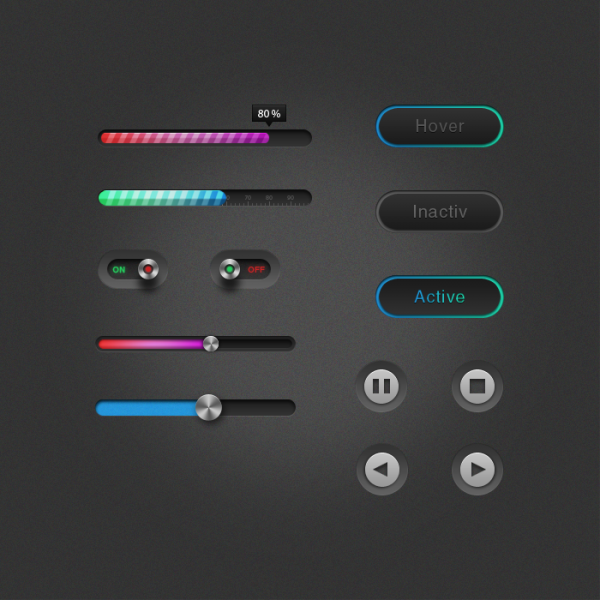 Ui Web Element Buttons