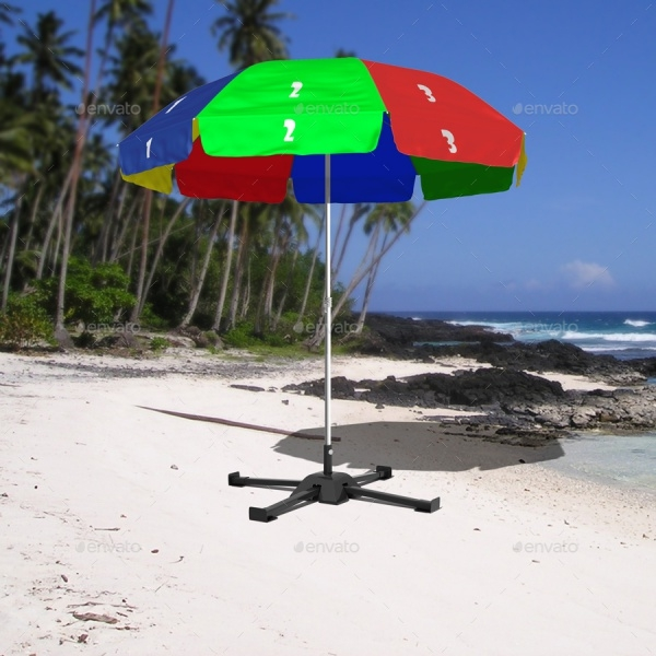 Outdoor Umbrella Mockup Design