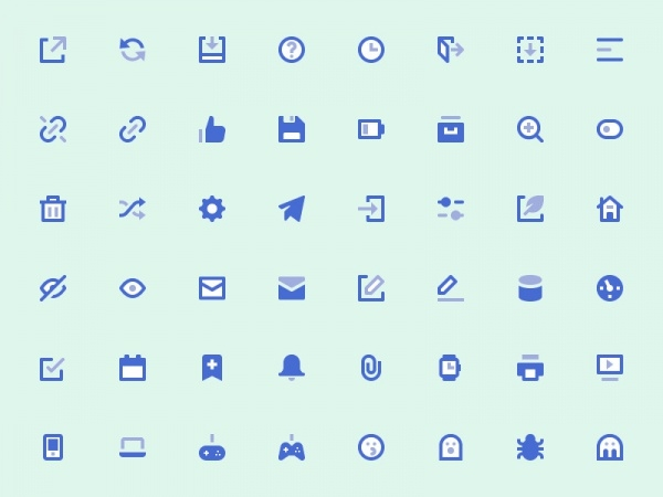 User Interface Mini Icons