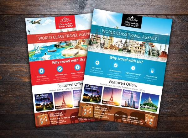 Vacations Tour Travel Flyer