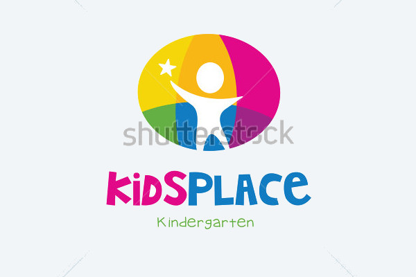 Vector Illustration Kid's Logo