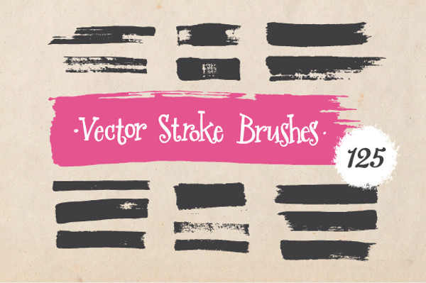 Vector Stroke Brushes