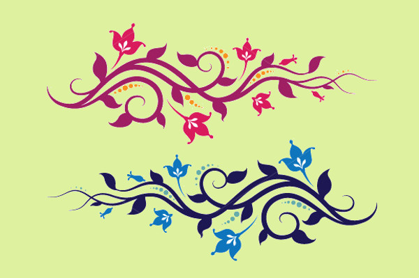 Vine Leaves Vector Pack