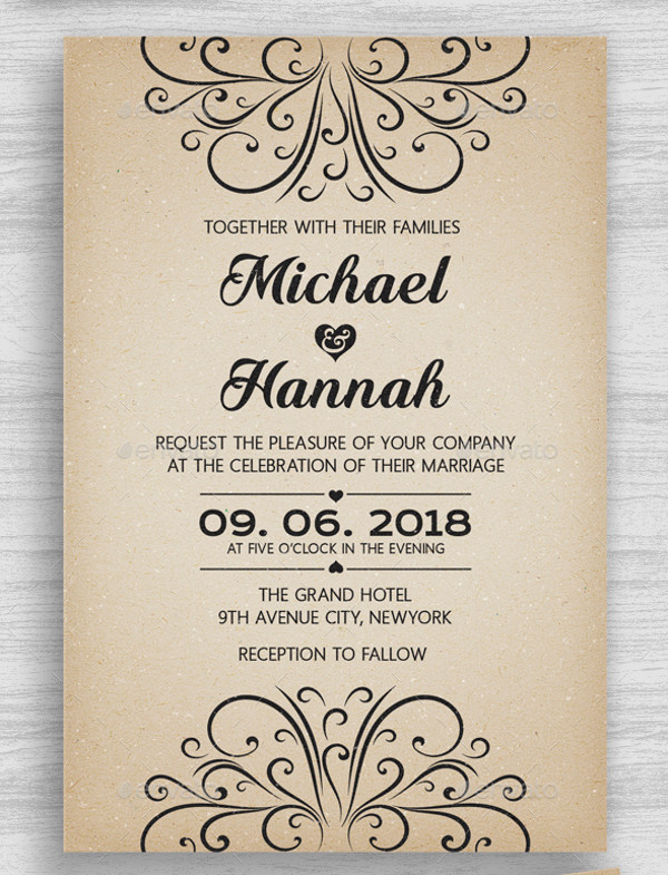 21 engagement invitations psd vector eps jpg download vintage engagement invitation stopboris Images