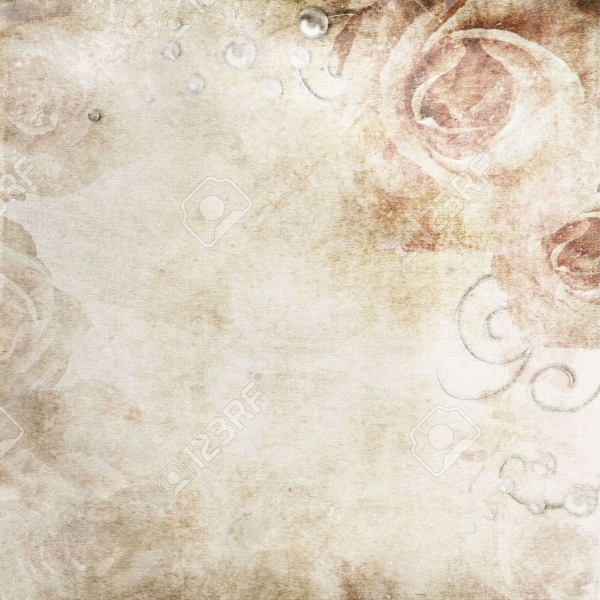 Vintage Rose Vector Texture