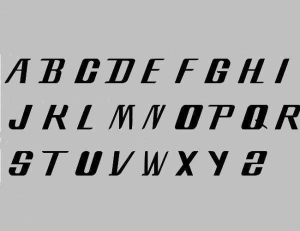 Vintage Style Bleach Font
