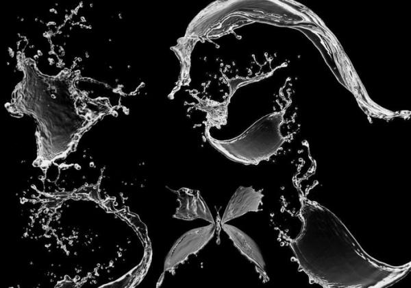 Water Liquid Splash Brushes