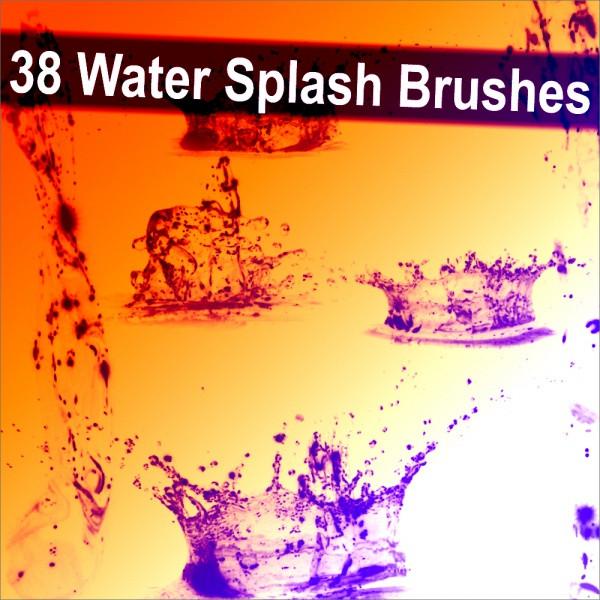 Water Splash Brushes For Desktop