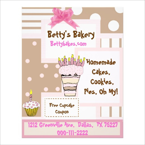 Whimsical Bakery Flyer Template
