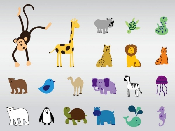 Wildlife and Animal Vector Designs