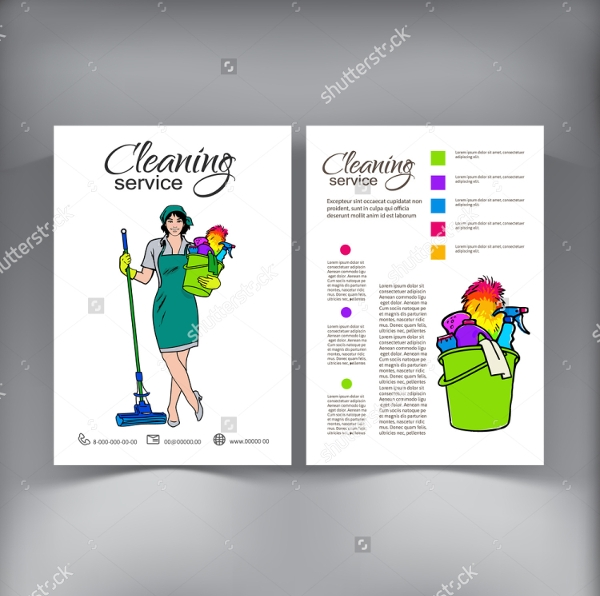 Doc461526 House Cleaning Flyer Template Free cleaning Flyer – House Cleaning Flyer Template