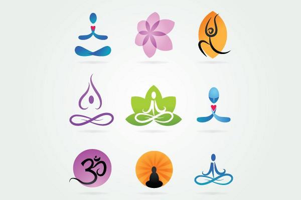 Yoga Vector Logo Types