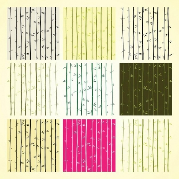 Collection Of Bamboo Patterns