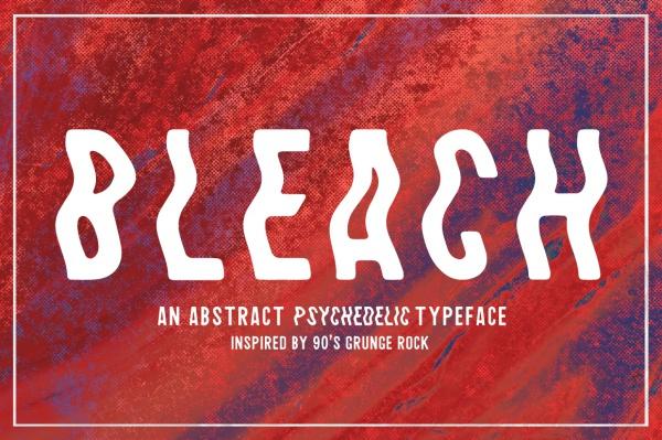 Bleach Title Font