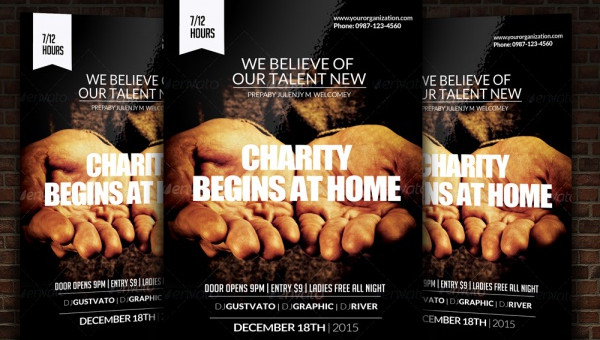 25 Charity Flyer Templates Psd Vector Eps Jpg Download