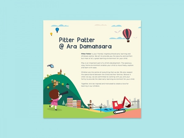 Colorful Childcare Play Brochure