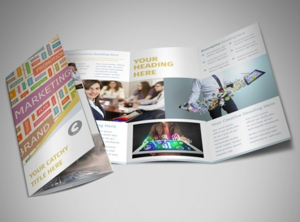 Digital Marketing Agency Tri-Fold Brochure