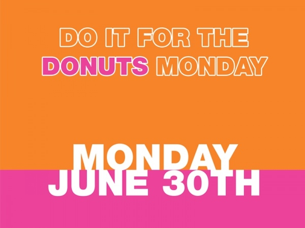 Do It For The Donuts Monday